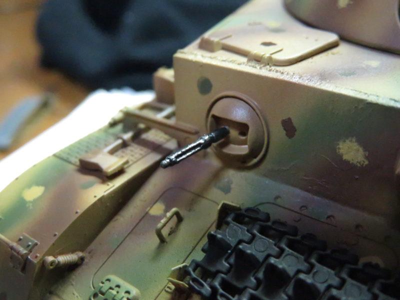 クーゲルブリッツ 車載機銃塗装