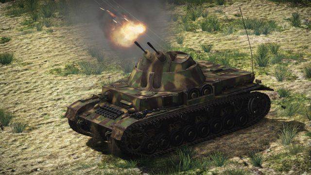 War Thunderのクーゲルブリッツ