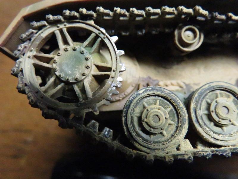 クーゲルブリッツ 起動輪の摩耗