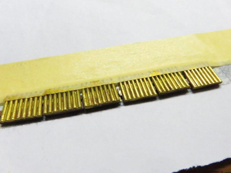 ーベルワーゲン 3.7cm砲弾の塗装