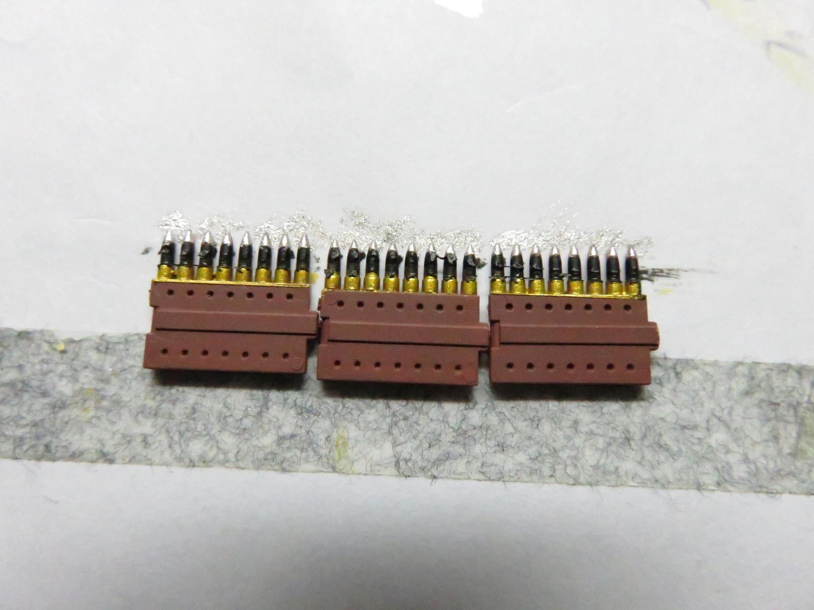 ーベルワーゲン 3.7cm砲弾の塗装2
