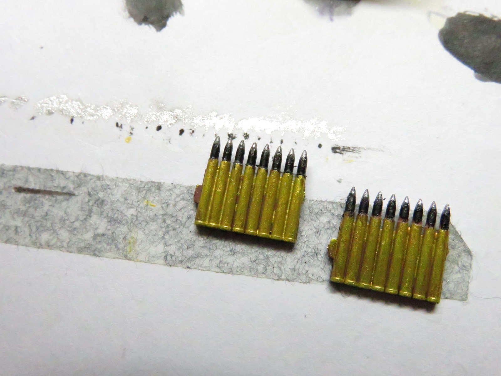 ーベルワーゲン 3.7cm砲弾の塗装3