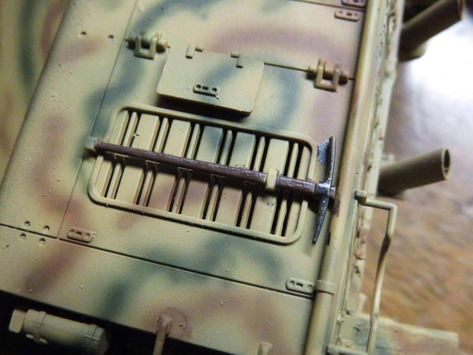メーベルワーゲン OVM(車載工具)の塗装