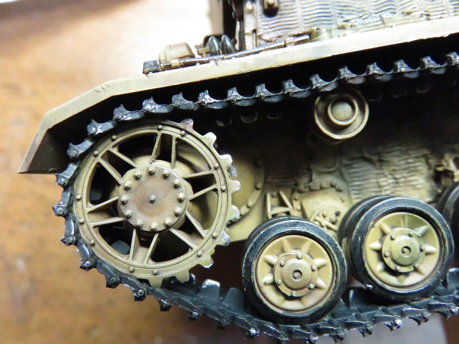 メーベルワーゲン 転輪の金属摩擦