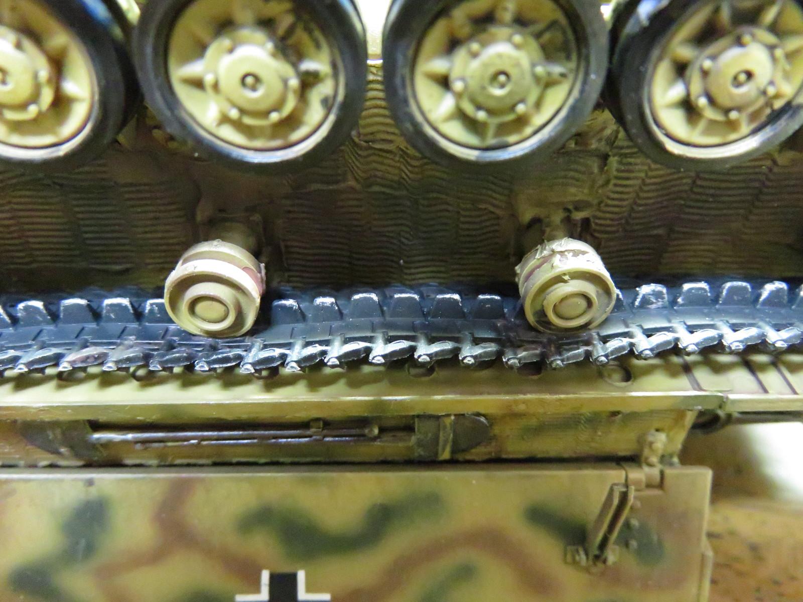 メーベルワーゲン 履帯の金属摩擦