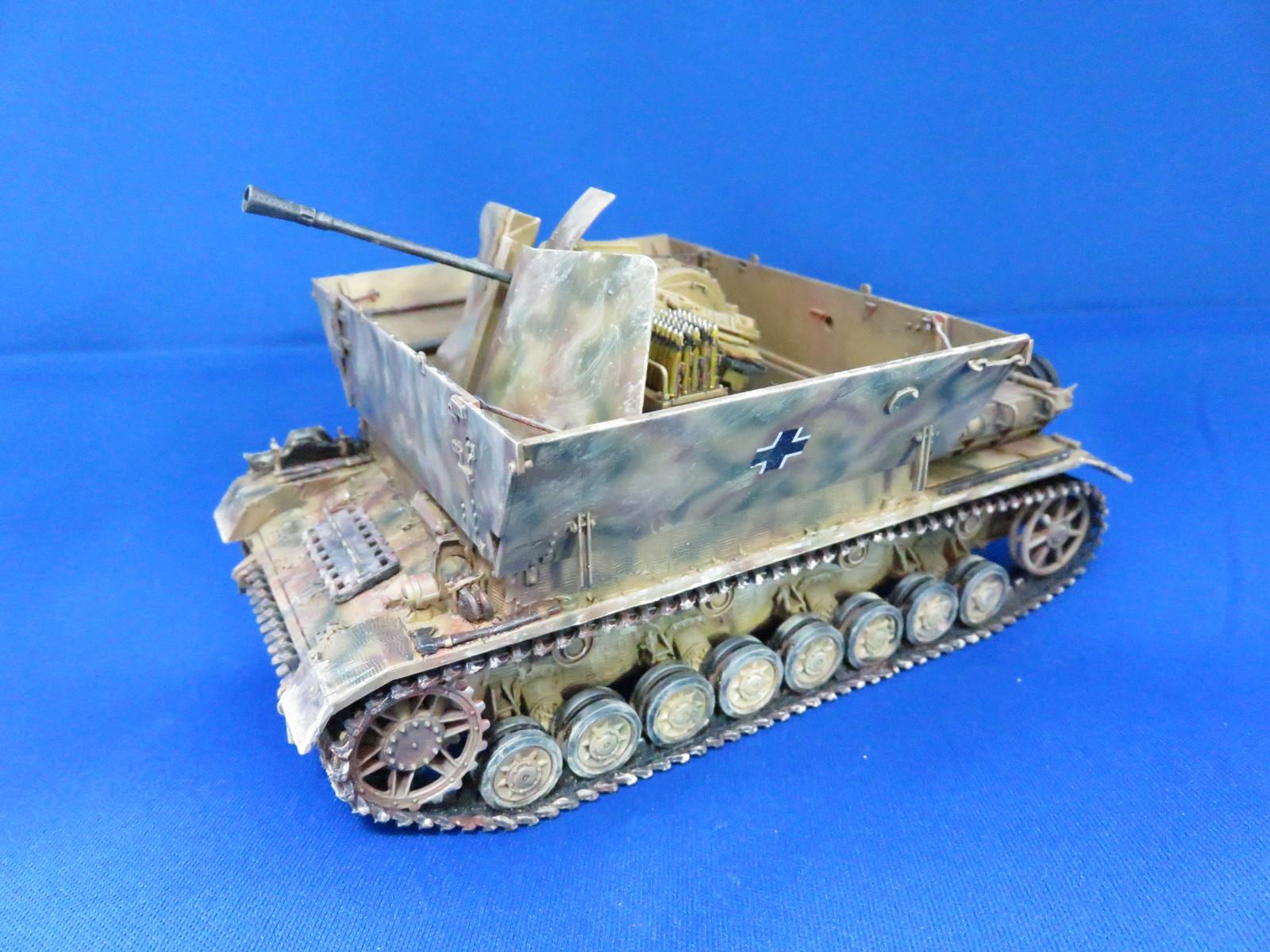 タミヤ 4号対空自走砲 メーベルワーゲン Flak43搭載型