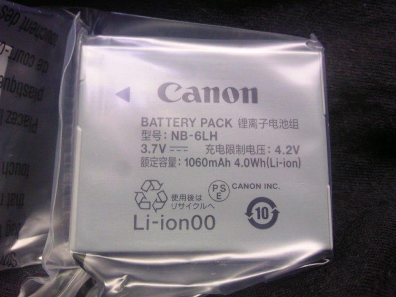 パワーショットSX710HS バッテリー
