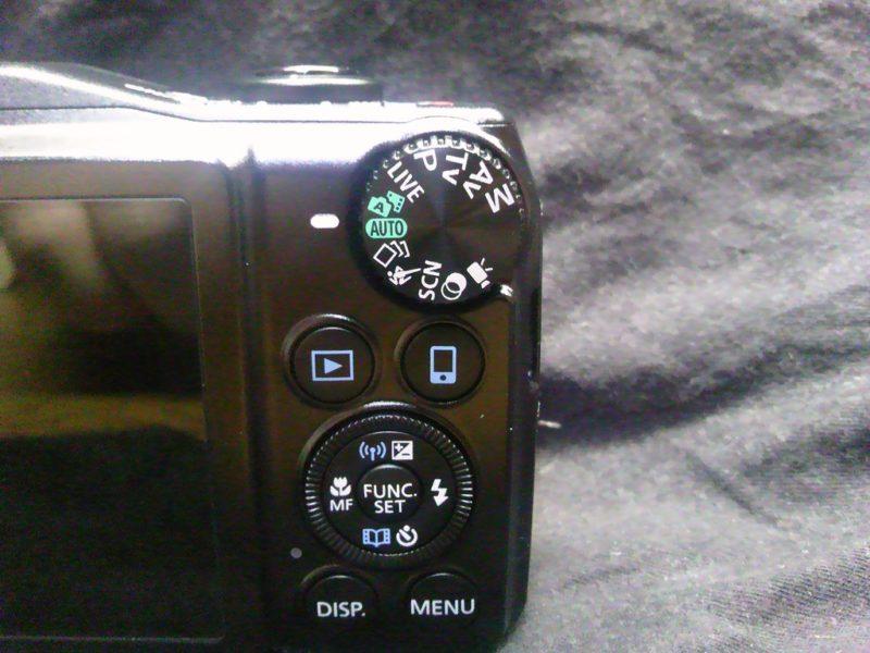 パワーショットSX710HS 操作ボタン