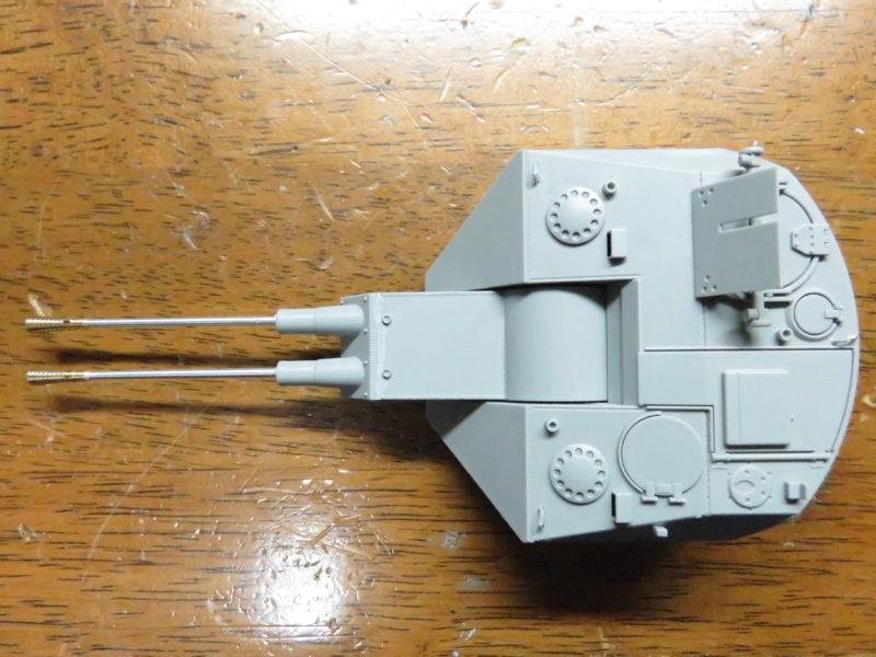 ケーリアン 砲塔完成