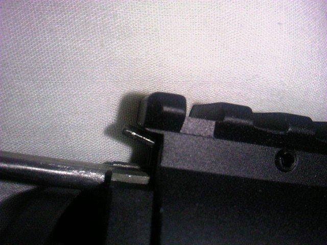 G&P M5 RAS フロントセット RAS先端の板バネ