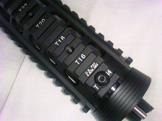 G&P M5 RAS フロントセット アッパーハンドガードのネジ