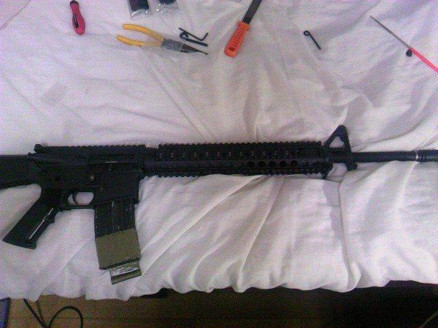 M5 RASを装着したM16A4 2