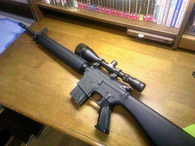 FN M16A4 ゴルゴ13風