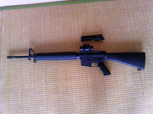 FN M16A4 ダットサイト装着