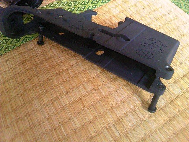 FN M16A4メタルフレーム 抜け落ち防止ピン