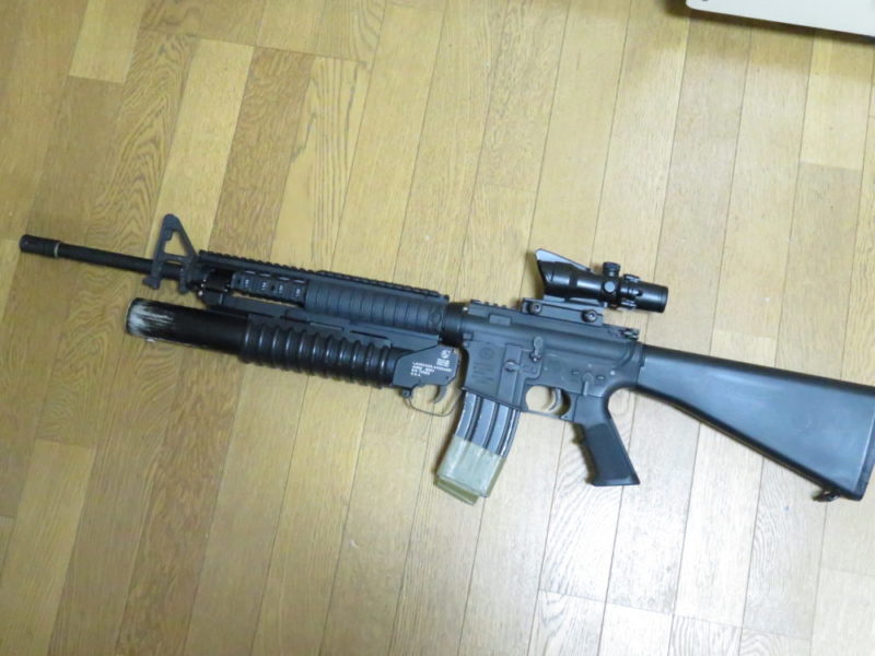 M16A4 M203搭載