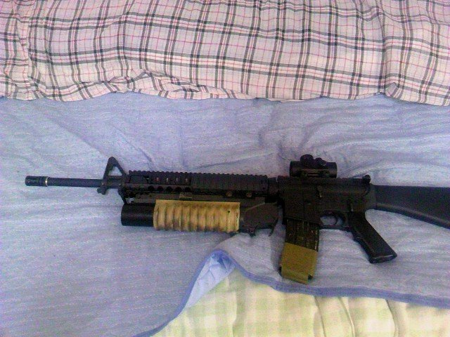 M16A4とM203(ショート)