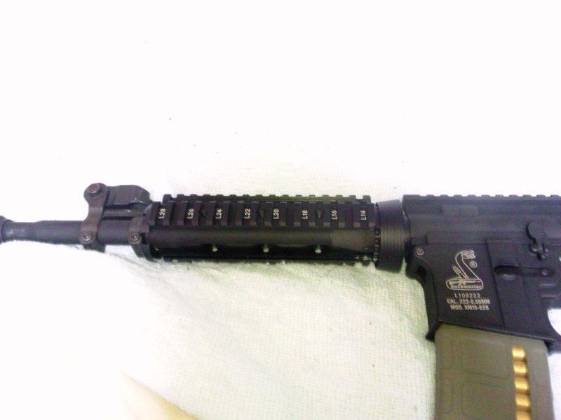 M4A1 ハンドガード組み込み