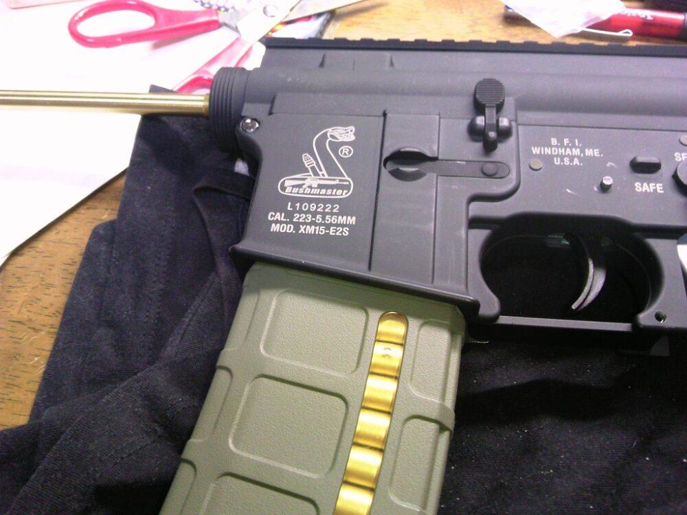 M4A1 チャンバー組み立て9