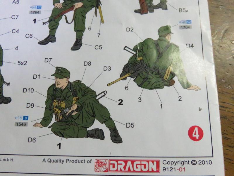ケーリアン ドイツ兵 組み立て13