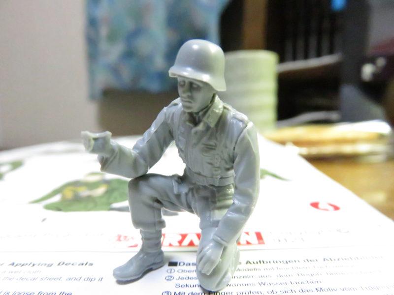 ケーリアン ドイツ兵 組み立て5