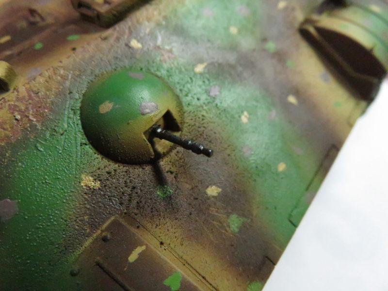 ケーリアン 車載機銃の塗装