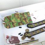 ようやく「5号対空戦車 ケーリアン」をエアブラシ塗装出来ました