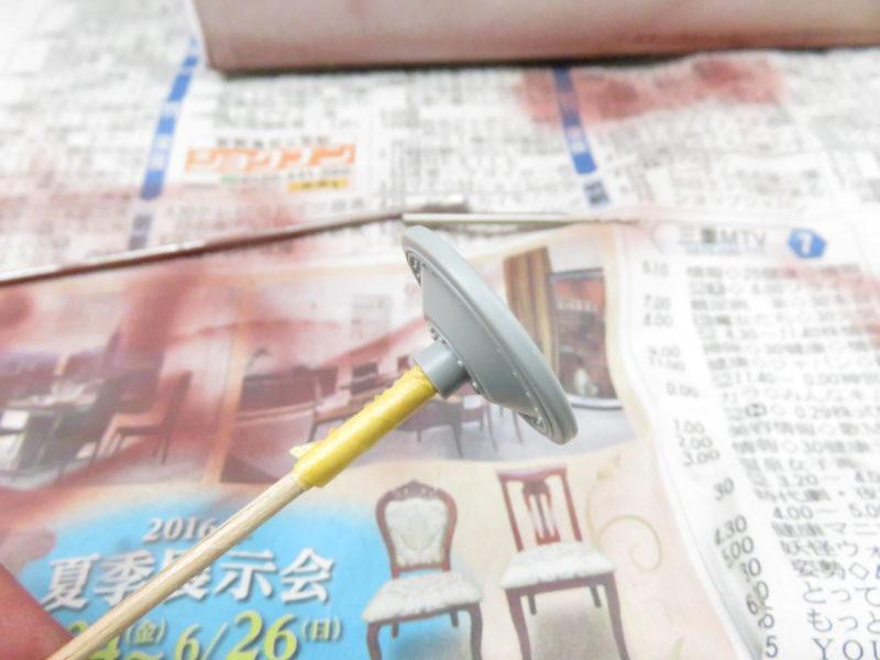 ケーリアン 転輪のサーフェイサー塗装