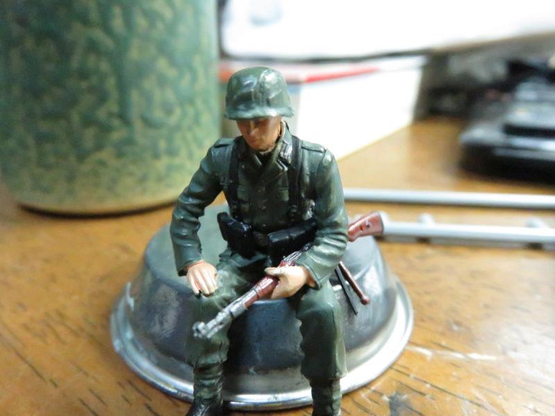 ケーリアン ドイツ兵士フィギュア3