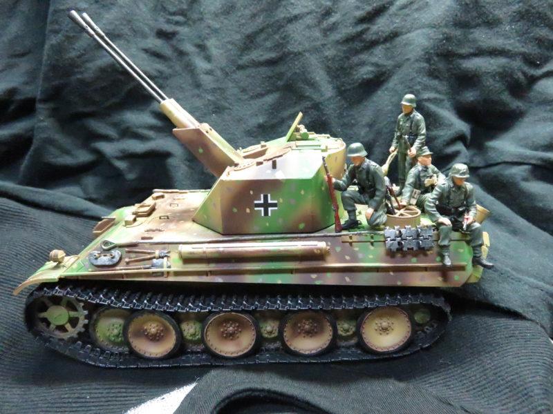 ケーリアンに乗るドイツ兵