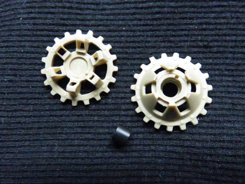 メーベルワーゲン試作型 起動輪
