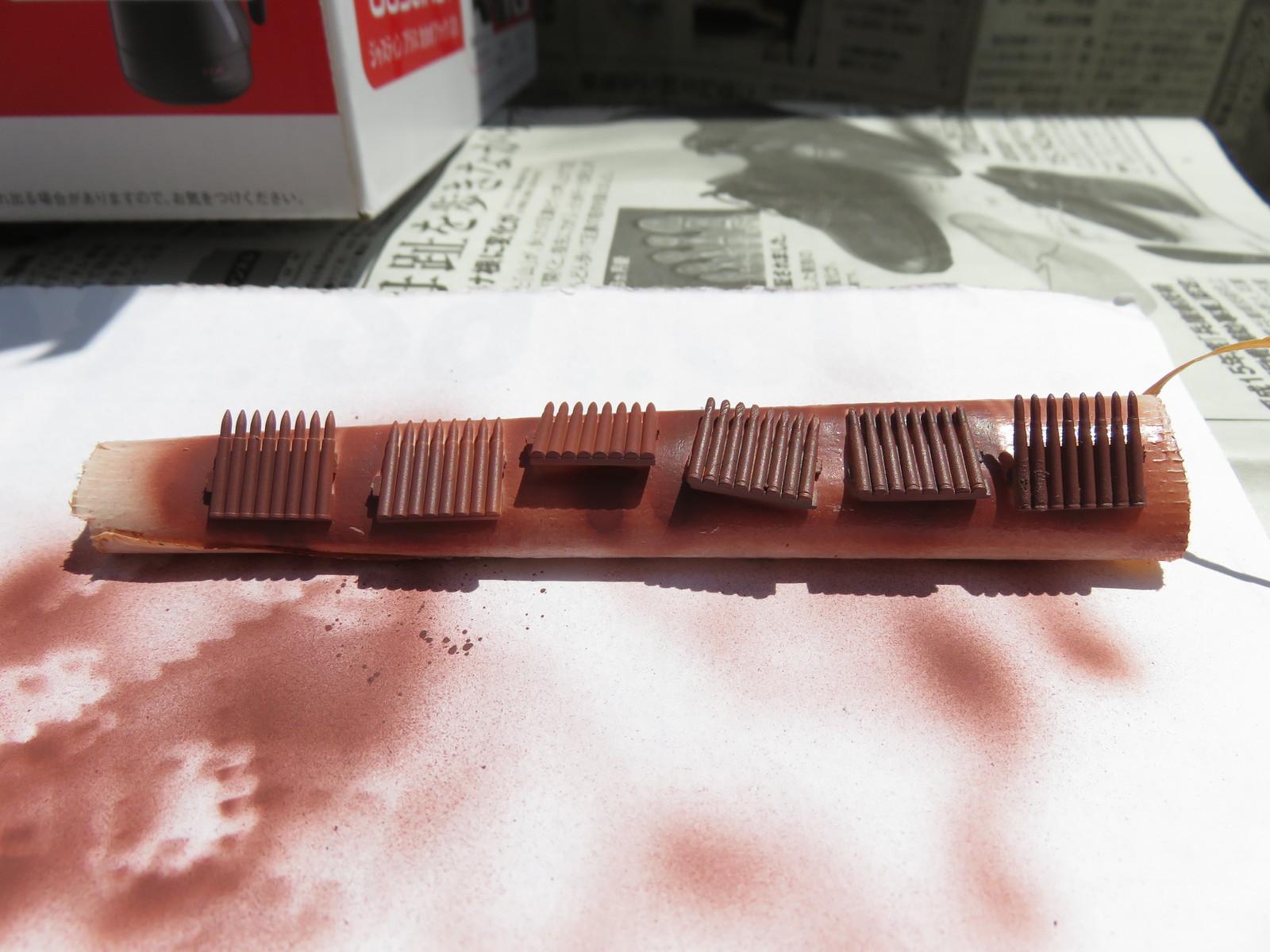 3.7cm砲弾 下地塗装2