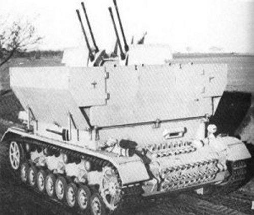 4号対空自走砲 メーベルワーゲン