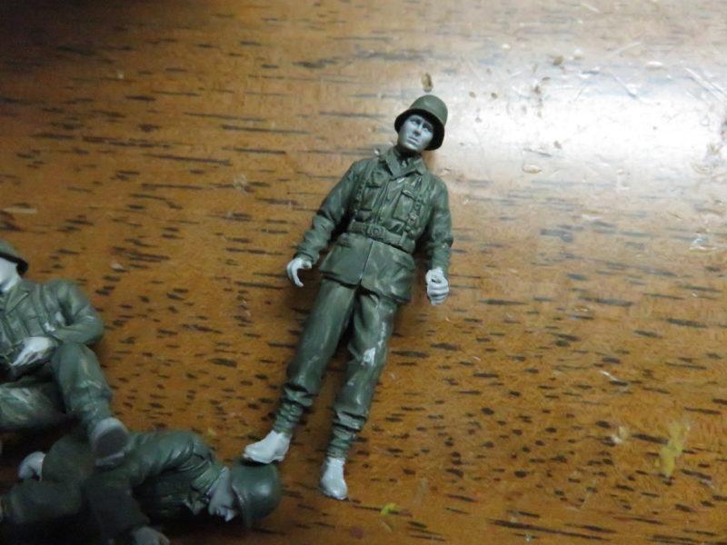 ケーリアン ドイツ兵 塗装1