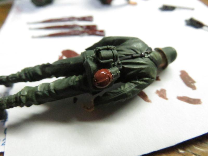 ケーリアン ドイツ兵 塗装13