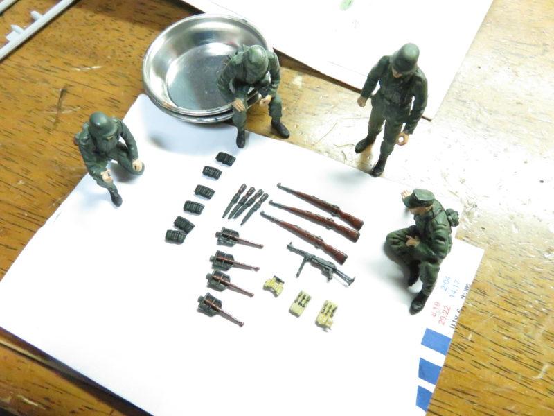 ケーリアン ドイツ兵 塗装17