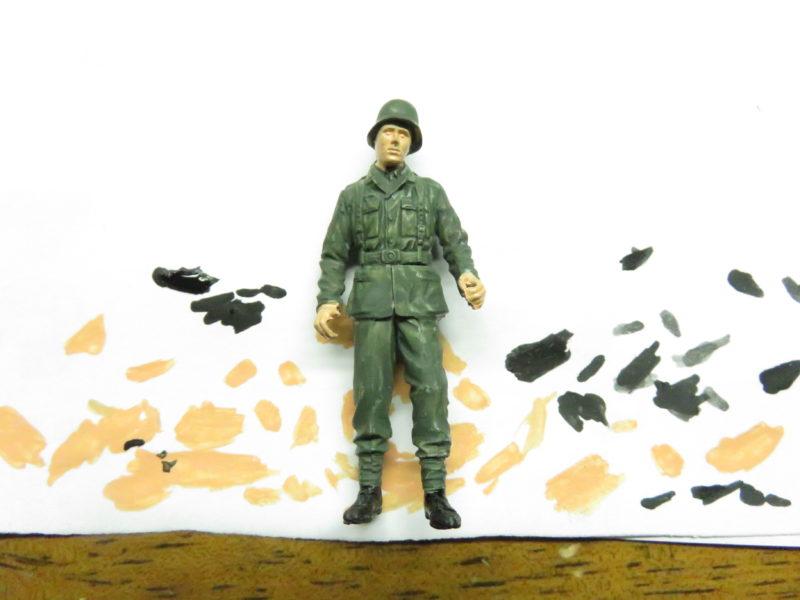 ケーリアン ドイツ兵 塗装2