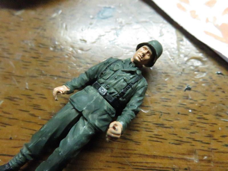 ケーリアン ドイツ兵 塗装5