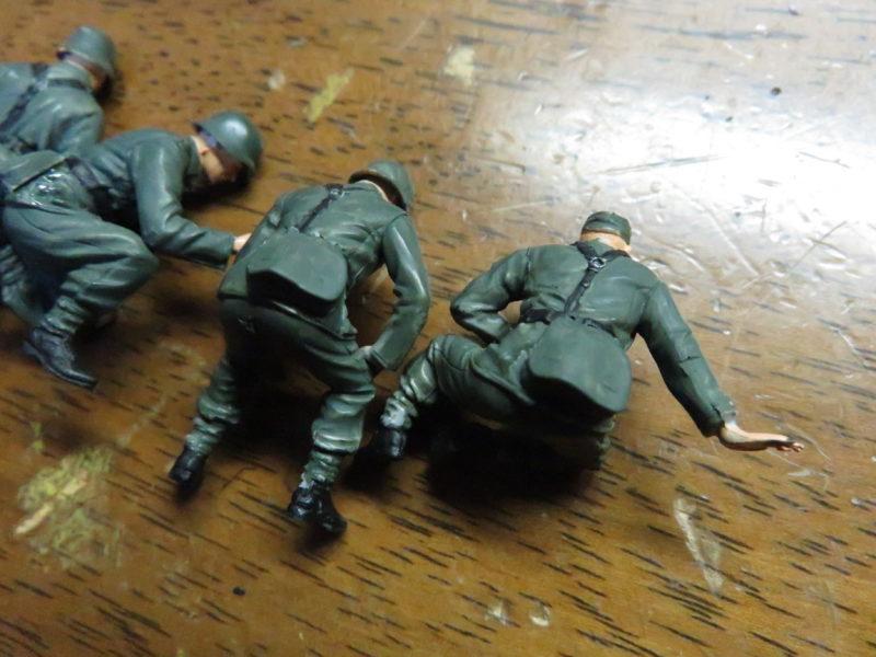 ケーリアン ドイツ兵 塗装7