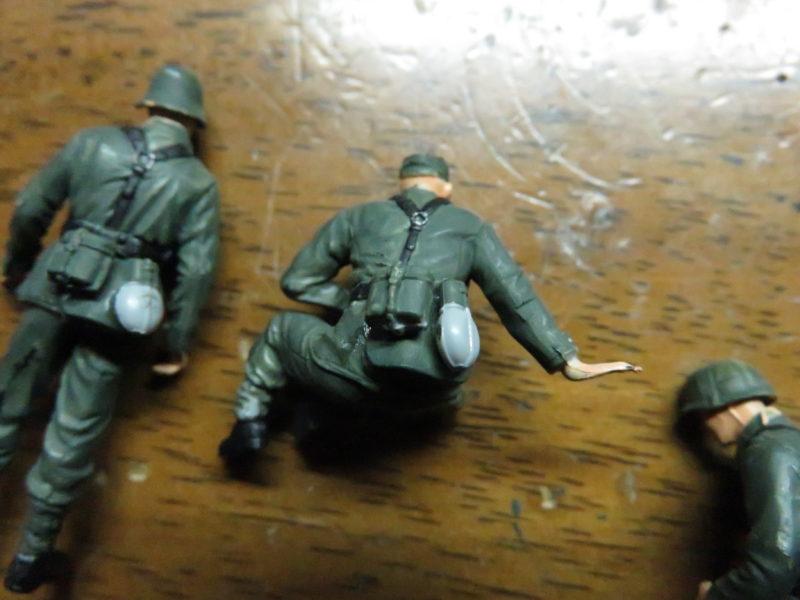 ケーリアン ドイツ兵 塗装8