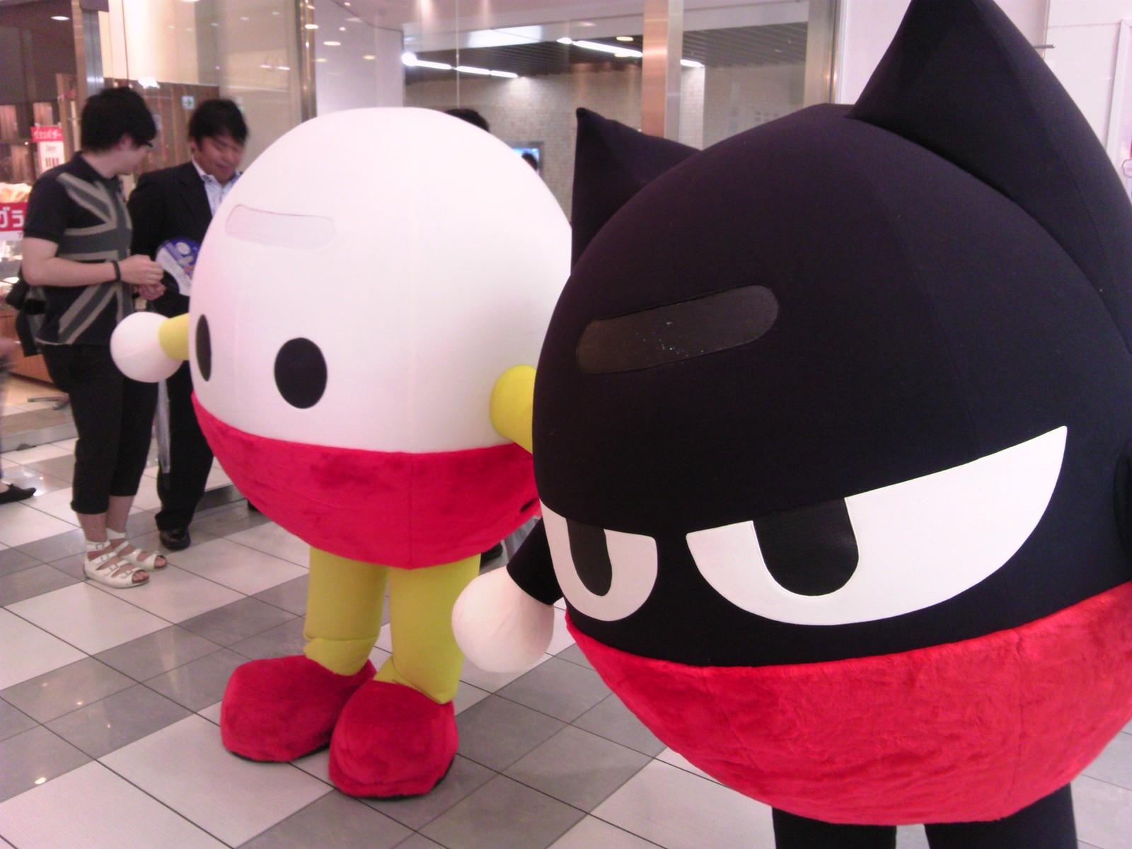 静岡駅構内のマスコットキャラ
