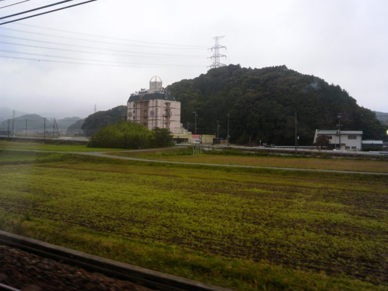 静岡へ向かう電車の車窓2
