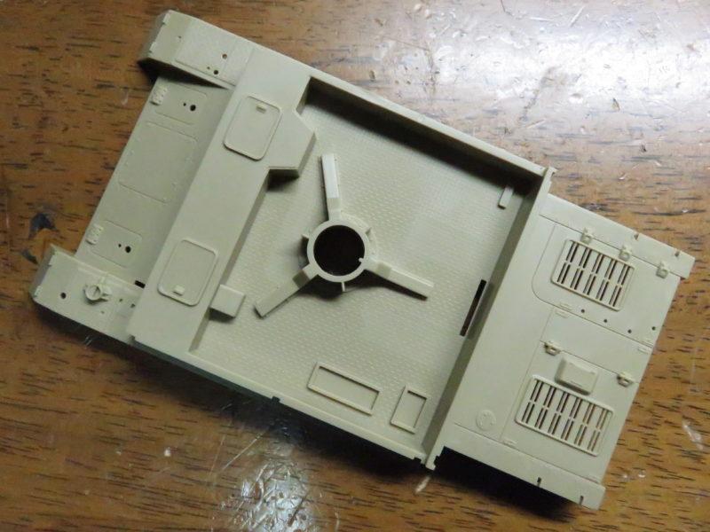 4号対空自走砲 メーベルワーゲン(試作型) 車体上部