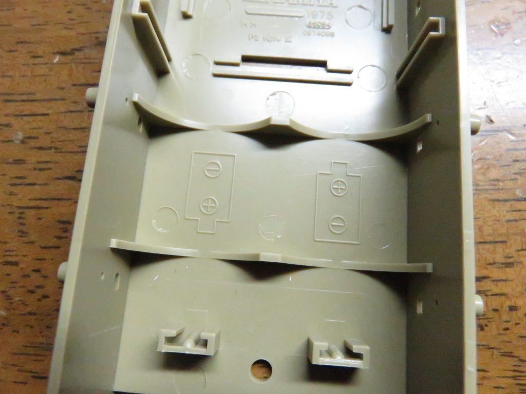 4号対空自走砲 メーベルワーゲン(試作型) 車体下部のモールド