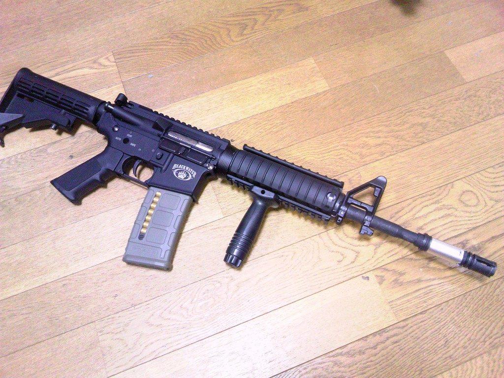 M4A1完成図2