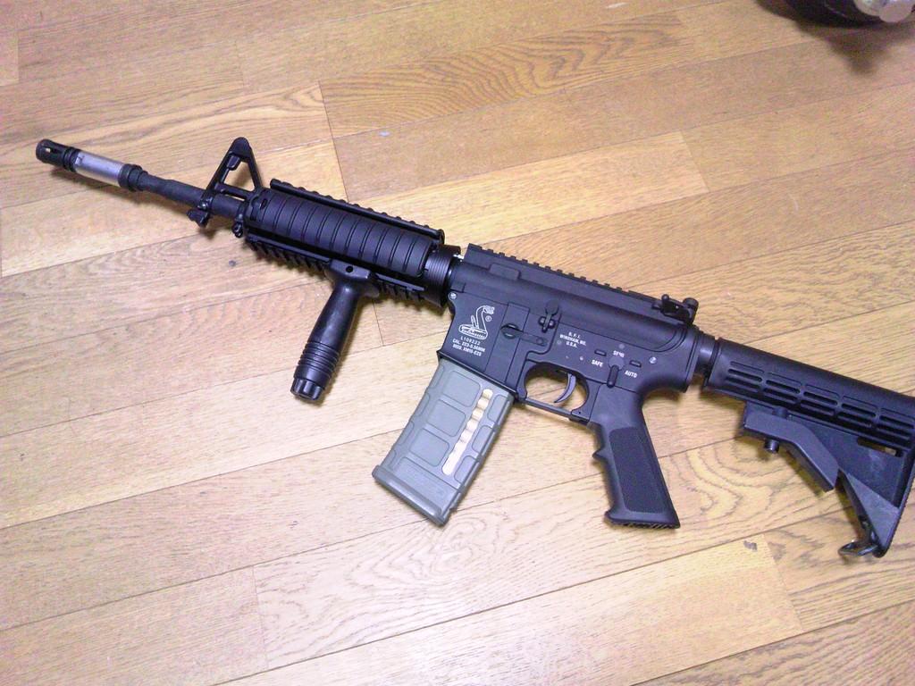 M4A1完成図
