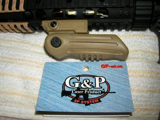 G&P RAS フォールディンググリップ