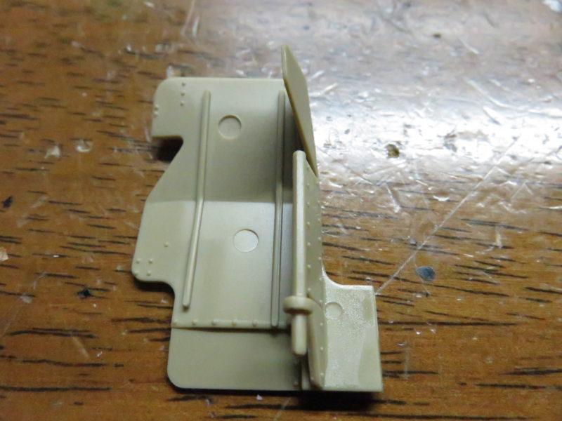 メーベルワーゲン試作型 Flakvierling38 防盾の組み立て2