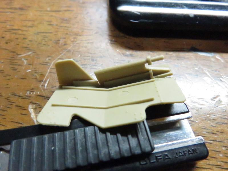 メーベルワーゲン試作型 Flakvierling38 防盾の組み立て3