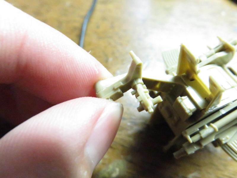 メーベルワーゲン試作型 Flakvierling38 照準器2